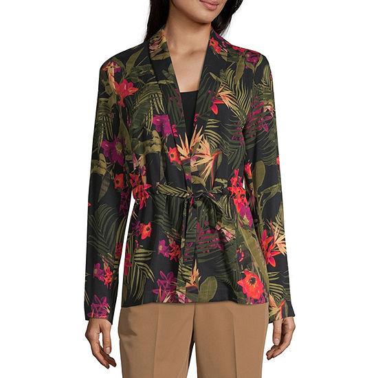Worthington Drawstring Waist Soft Jacket - Tall