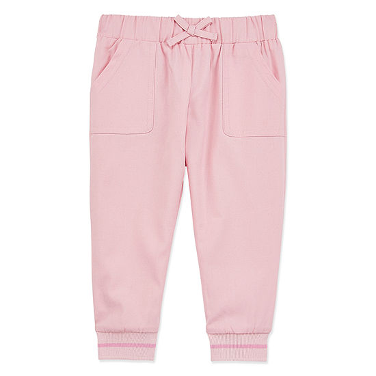 Okie Dokie Girls Straight Jogger Pant - Baby