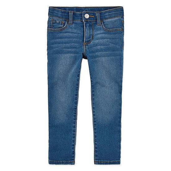 Okie Dokie Toddler Girls Skinny Fit Jean