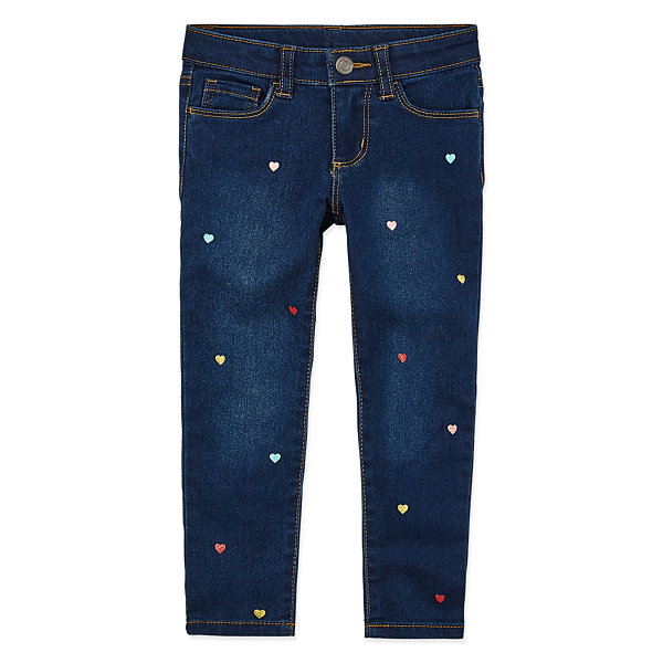 Okie Dokie Girls Skinny Fit Jean Toddler