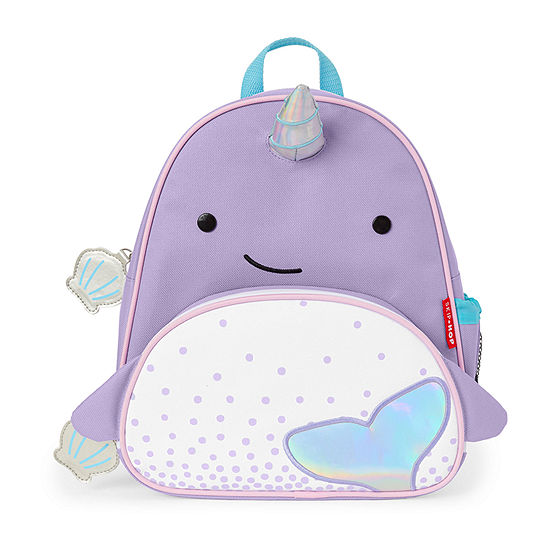 Skip Hop Zoo Activity Narwhal Girls Animal Backpack