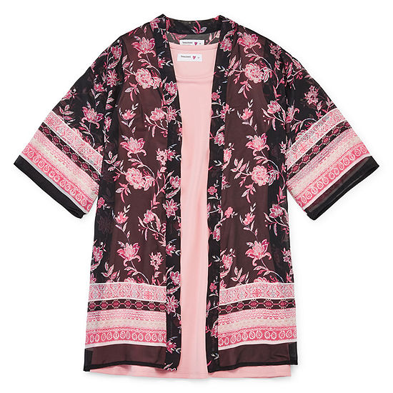 Knit Works Chase Girls Sleeveless Dress Set - Big Kid