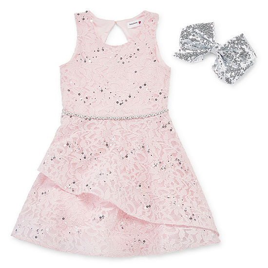 Knit Works Girls Sleeveless Party Dress - Preschool / Big Kid