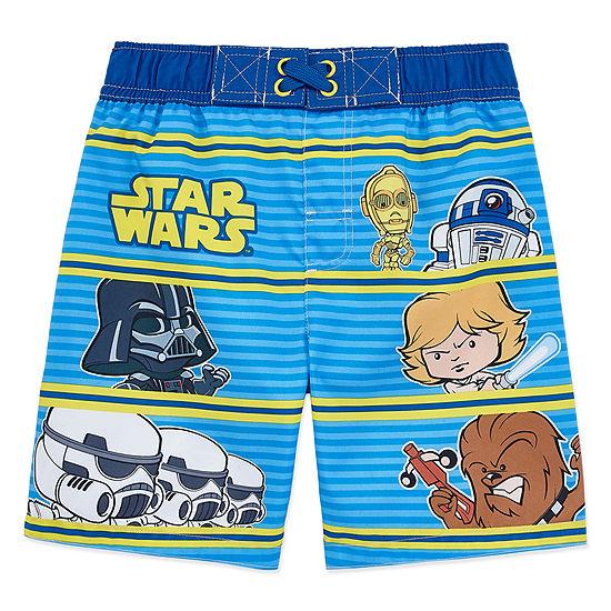 Boys Star Wars Swim Trunks-Toddler