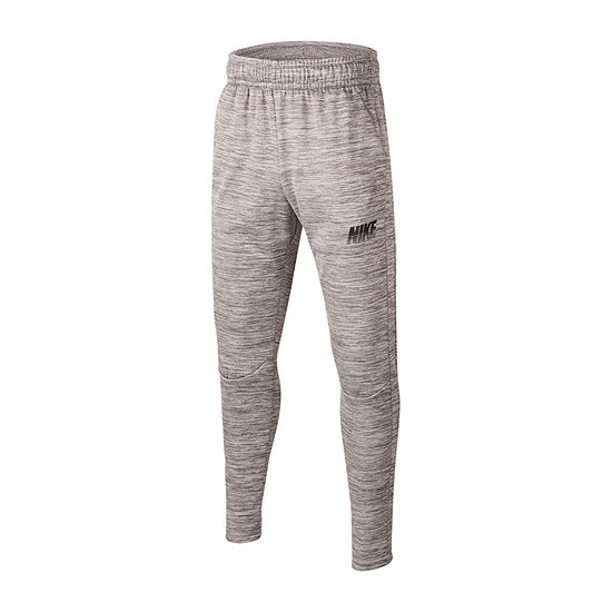 Nike Boys Performance Fleece Cinched Pull-On Pants - Big Kid