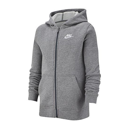 Nike Cotton Fleece Big Boys Hoodie