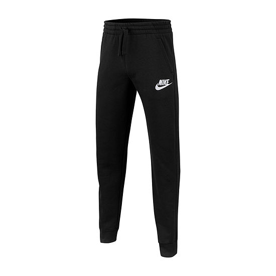 Nike Cotton Fleece Big Boys Mid Rise Cinched Jogger Pant