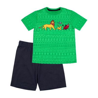 Disney 2-pc. The Lion King Short Set Toddler Boys