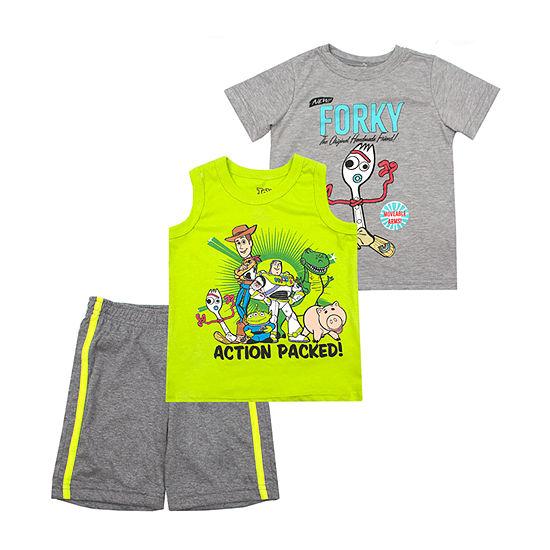 Disney 3-pc. Toy Story Short Set Toddler Boys