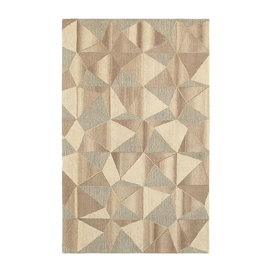 Covington Home Inala Pyramids Hand Tufted Rectangular Indoor Rugs