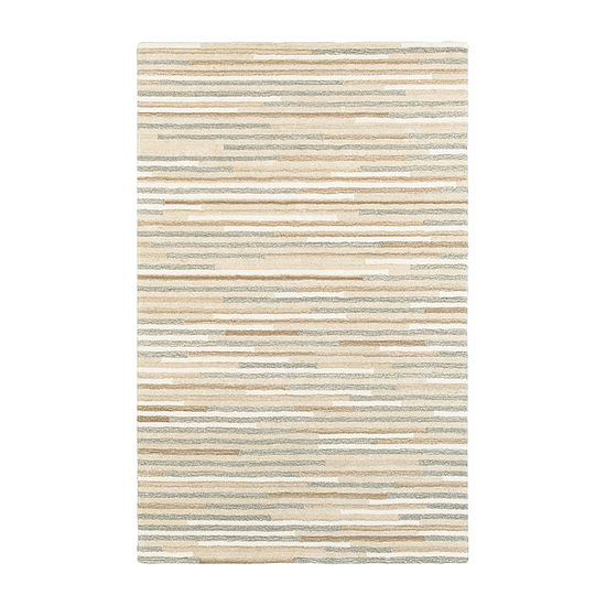 Covington Home Inala Stripe Hand Tufted Rectangular Indoor Rugs