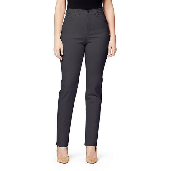 Gloria Vanderbilt Amanda Classic Jeans Womens High Waisted Straight Leg Jean