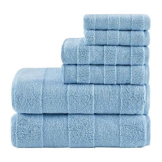 Madison Park Signature Parker 6-pc. Solid Bath Towel Set