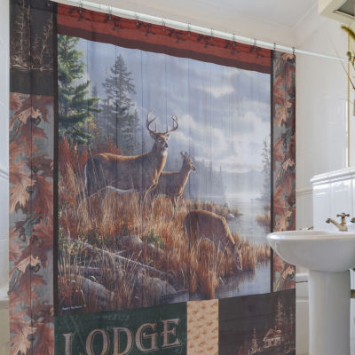 Hautman Brothers At The Crossing Shower Curtain