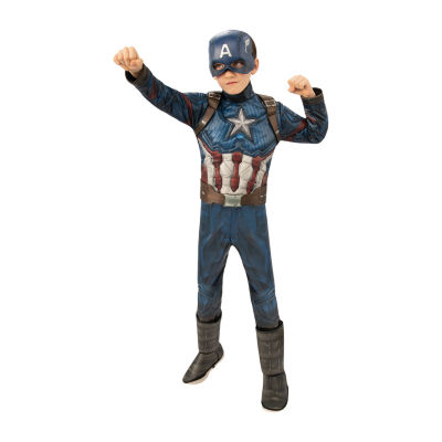 Captain America Costume - Boys