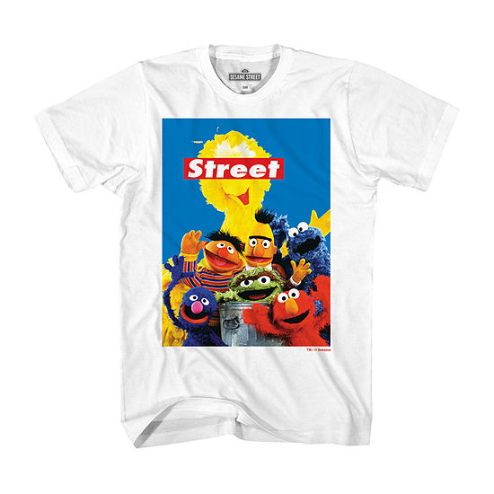 Mens Sesame Street Graphic T-Shirt