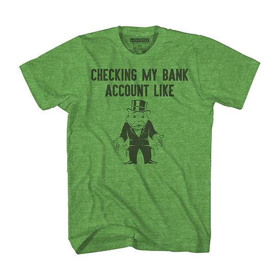 Mens Monopoly Graphic T-Shirt