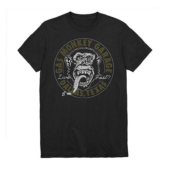 Mens Gas Monkey Graphic T-Shirt