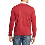 IZOD Polo Mens Long Sleeve Rugby Shirt