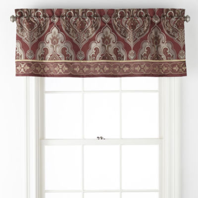 JCPenney Home Carson Rod-Pocket Valance