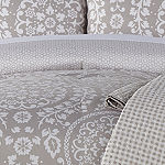Home Expressions Huntington 6-pc. Midweight Reversible Comforter Set