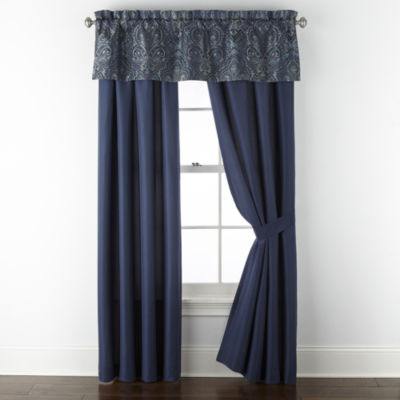 JCPenney Home Glenwood Light-Filtering Rod-Pocket Curtain Panel