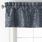 JCPenney Home Glenwood Rod-Pocket Tailored Valance