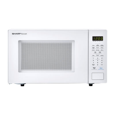 Sharp® Carousel 1.1 Cu. Ft. 1000W Countertop Microwave Oven in White