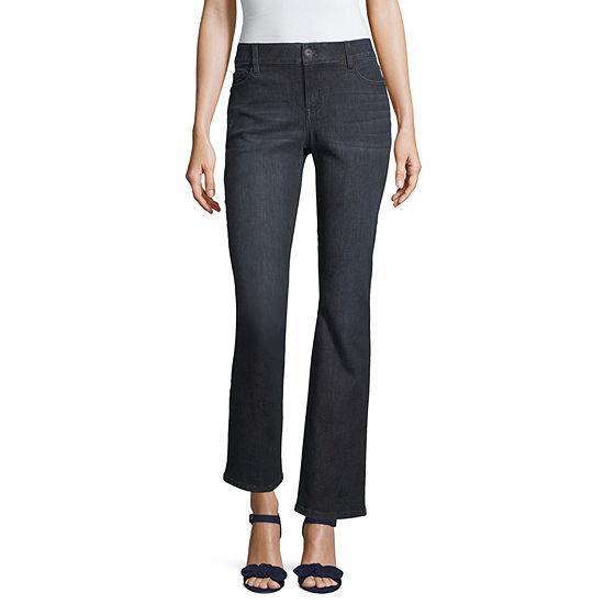 Liz Claiborne Womens Classic Fit Bootcut Jean