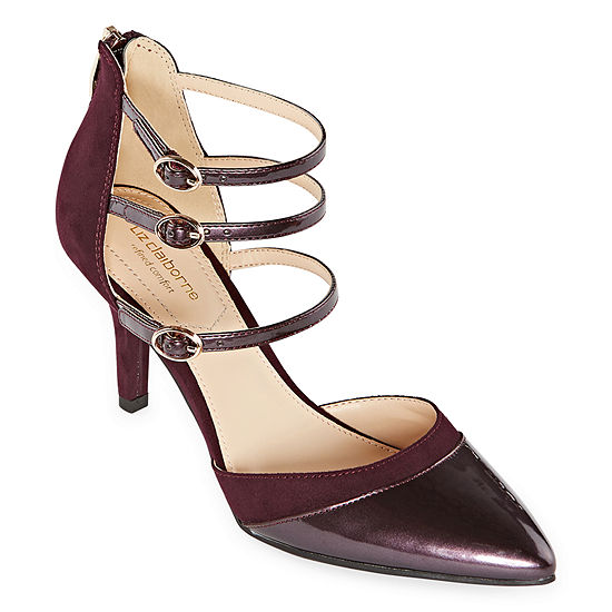 Liz Claiborne Womens Heidi Pumps Pointed Toe Spike Heel
