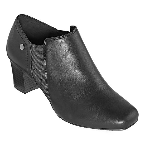 east 5th Womens Redmond Dress Boots Block Heel