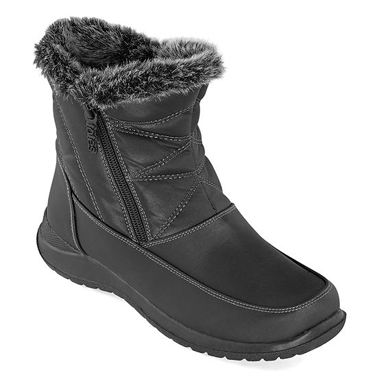 Totes Womens Fauna Waterproof Winter Boots Flat Heel