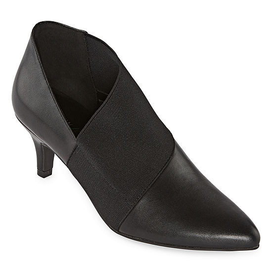 Andrew Geller Womens Vienna Stiletto Heel Booties
