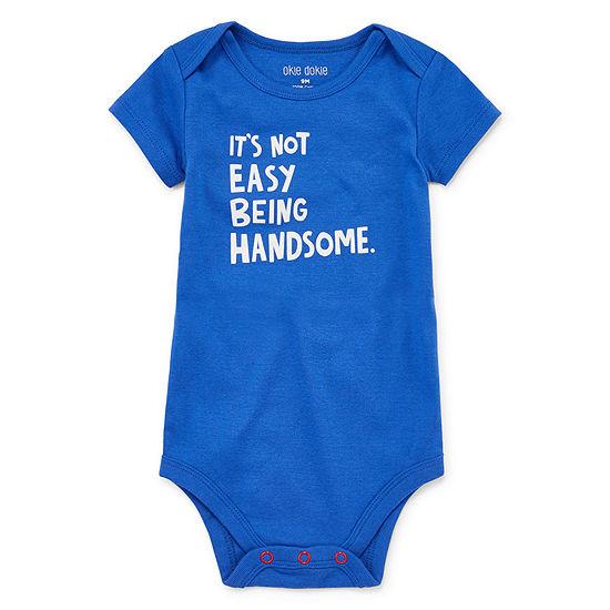 Okie Dokie Bodysuit Boys-Baby