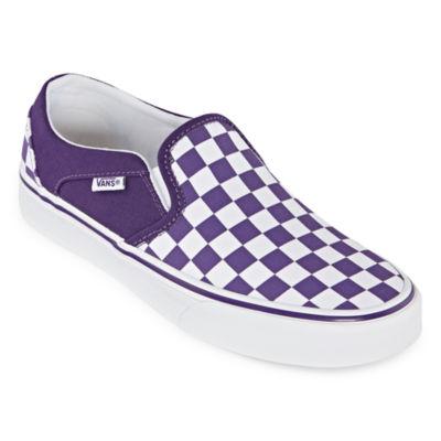 Vans Asher Womens Skate Shoes Slip-on