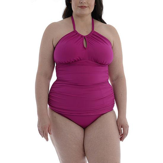 Sonnet Shores Tankini Swimsuit Top Plus