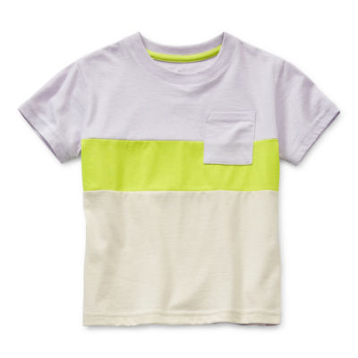 Thereabouts Toddler Boys Crew Neck Short Sleeve T-Shirt