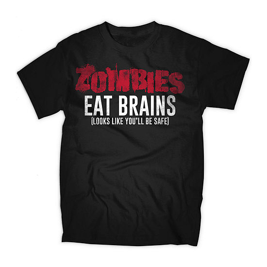 Zombies Eat Brains Graphic Tee