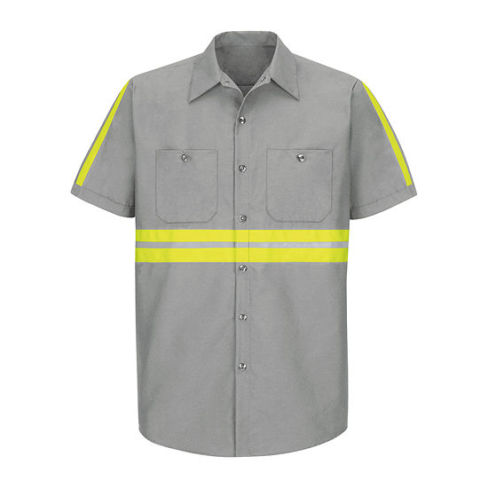 Red Kap® Short-Sleeve Enchanced Visibility Shirt - Big & Tall