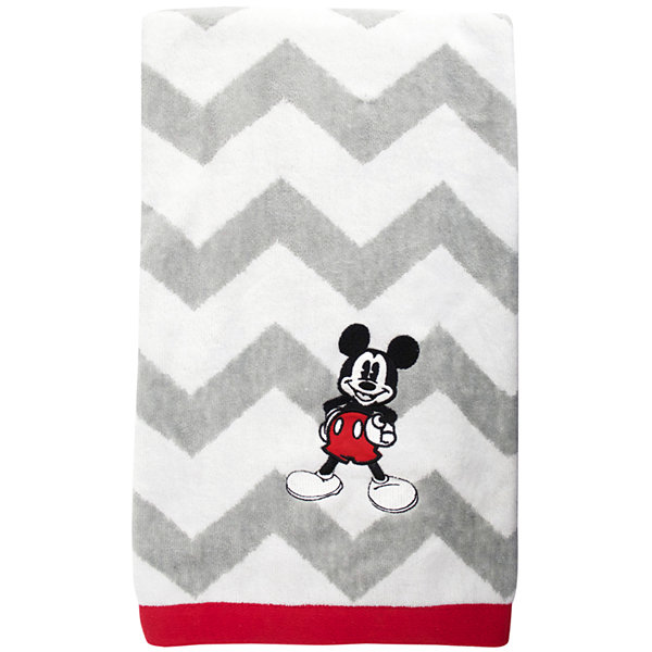 Disney Chevron Mickey Mouse Bath Towel