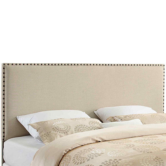 Conway Upholstered Headboard with Nailhead Trim