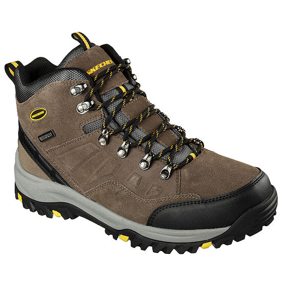 Skechers® Relaxed Fit Pelmo Mens Waterproof Hiking Boots