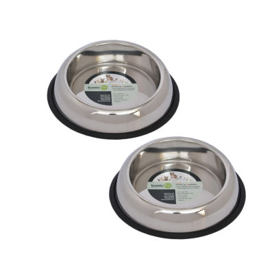 Iconic Pet 2-pk. Easy Feed Bowl