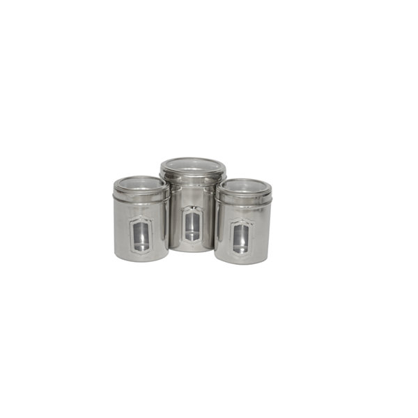 Iconic Pet 3-pc. Canisters with Lids