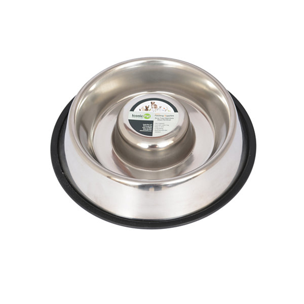 Iconic Pet 6-Cup Slow Feed Bowl