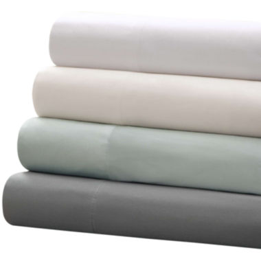 jcpenney.com | Sleep Philosophy 300tc Always Perfect Cotton Sheet Set & Pillowcases