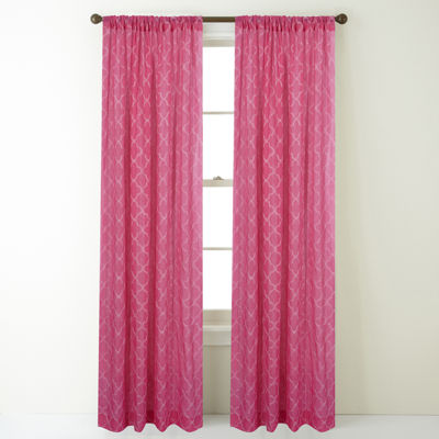 Jess Rod-Pocket Curtain Panel