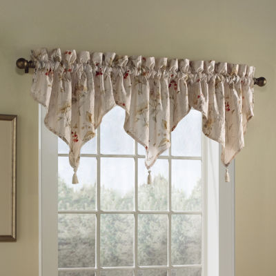 Chantelle Rod-Pocket Ascot Valance