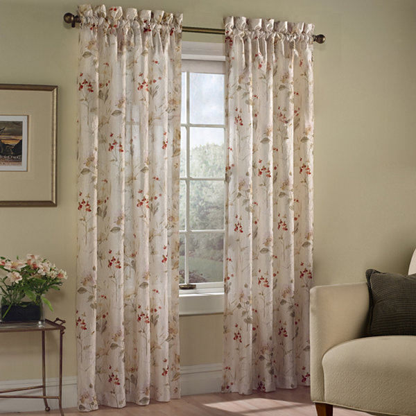 United Curtain Co. Chantelle Rod-Pocket Curtain Panel