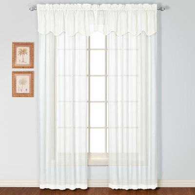 Charleston Rod-Pocket Curtain Panel
